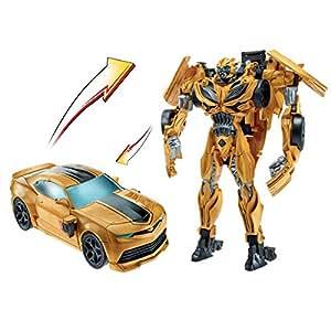 Hasbro - Transformers 4 Rid Flip And Change Bumblebee