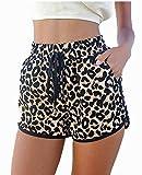 Hippolo donna leopardo estate spiaggia pantaloni corti L
