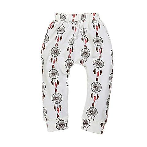 Ouneed® Garçons Filles Bébés Pantalons Bas Pantalon sarouel PP enfants