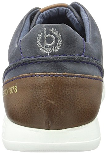 Bugatti K19015, Sneakers Basses Homme Bleu (Dunkelblau 425)