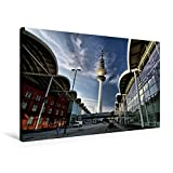 Premium Textil de lienzo 45cm x 30cm Feria, Horizontal Feria Torre, 90x60 cm