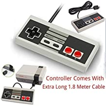 Mando Control mando Para Nintendo Mini Clásico NES JOYPAD Incluye Extendida 1,8M CABLE LARGO By AirBot