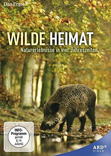 Wilde Heimat - Naturerlebnisse in vier Jahreszeiten (4 Folgen) [2 DVDs] (Die Ersten Wilden Tiere)