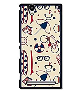 Design Cafe Back Cover for Sony Xperia T2 Ultra