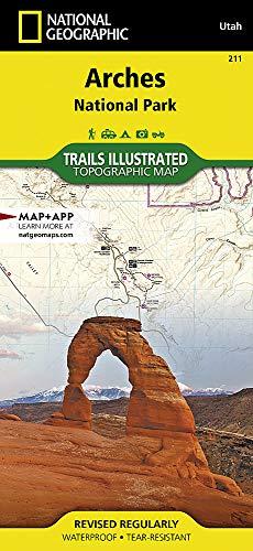 : National Geographic Trails Illustrated Utah (National Geographic Trails Illustrated Map, Band 211) ()