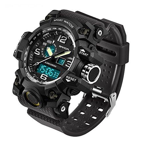 Sanda Luxus Smart Uhr Ip67 Wasserdicht Heart Rate Monitor Blutdruck Fitness Tracker Männer Frauen Smartwatch Für Ios Android Starke Verpackung Uhren
