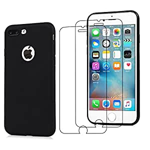 new arrival 0b5d7 09dce iPhone 7 Plus 8 Plus Case Screen Protector E-Mandala Apple i (iPhone 7 Plus  8 Plus)(Black Mark)