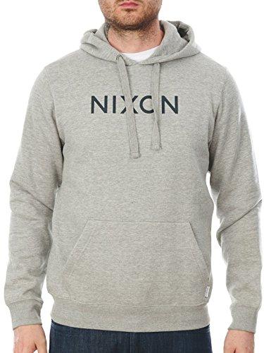 NIXON Neptune Pullover Hoodie Heather gray Fall Winter 16-17 - S