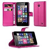 Cadorabo Coque pour Nokia Lumia 630/635 en Rose Bonbon - Housse Protection avec...