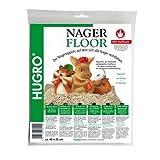 Hugro Nagerfloor Hanfmatte Standard 40x25cm, 4er Pack (4 x 180 g)