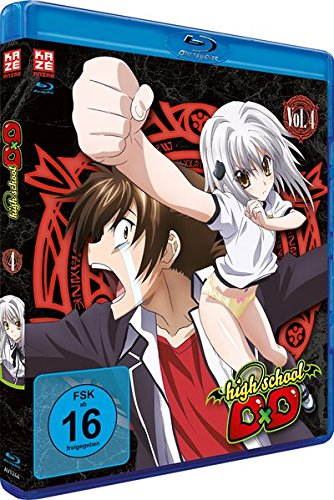 Highschool DxD - Vol. 4 [Blu-ray]