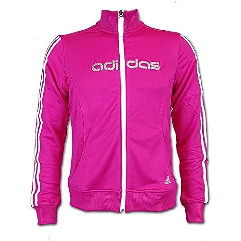 adidas VSi Knit Track Top–Chaqueta de deporte y ocio. Mujeres Rosa, rosa, M