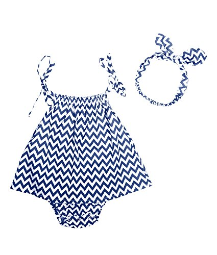oceankids-bebes-ninas-ropa-de-abrigo-infantil-zigzag-stripe-jumpsuit-con-banda-de-pelo-azul-24m-18-2