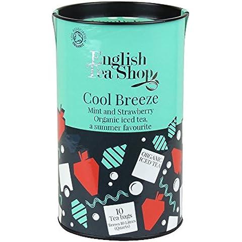 English Tea Shop - Cool Breeze - Organic Iced Tea - 10 Bags - 80g (Case of 6)