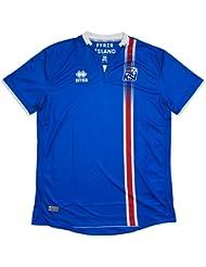 Iceland EURO 2016 Home S/S Replica Football Shirt