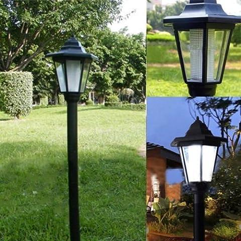 Al aire libre de energía solar LED Camino Camino Paisaje de pared para valla de jardín Lámpara Luz Wa