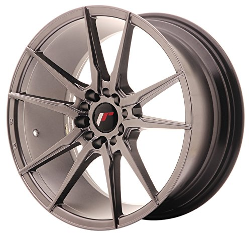 JAPAN Racing JR21 Hiper Black 8.5 x 18 et40 5 x 112/114 jantes en alliage