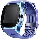 LUCKY ® Nuevo T8 Bluetooth Smart Watches Apoyo SIM & TF Tarjeta Con Cámara Sync Llamar Mensaje Hombres Mujeres Smartwatch Ver Para Android