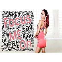 Ariana Grande–Focus 2–Pop Star Superstar cantante Sexy Lady mejor Color fotos única impresión A3Póster de pared