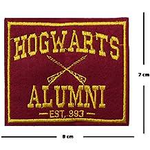 Hogwarts Alumni Stickerei Patch Eisen auf oder Nähen auf Motiv Harry Potter Transfer Aufnäher