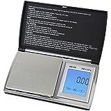 Smart Weigh ACC200Accustar Digitale beleuchtete Touch Bildschirm Pocket Maßstab-Schwarz