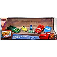Disney Cars The World of Cars Radiator Springs Classic Radiator Springs Cleanup 1:55 Diecast Car Set