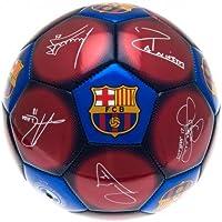 Fútbol con FC Barcelona diseño y firmas, tamaño 5