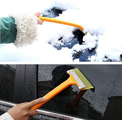 Auto-parabrezza-trasparente-ghiaccio-raschietto-per-ghiaccio-neve-pala-raschietto-per-ghiaccio-con-manico-auto-Ice-Snow-Clean-Tool