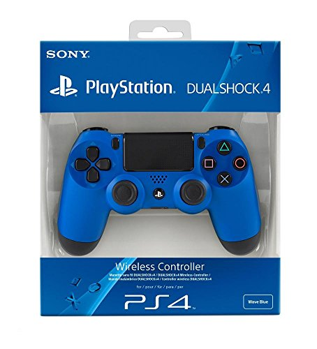 Sony PlayStation DualShock 4 - Wave Blue (PS4) Best Price and Cheapest