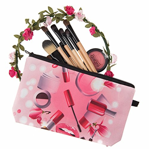 Kukubird Divertimento Nuovo Animale Foto Modello Stampa Make-up Bag Con Sacchetto Di Polvere Di Kukubird WomensBeauty