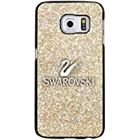 Glitter Golden Swarovski Logo Phone Case Cover for Samsung Galaxy S6 Edge Plus Swarovski Rock Crystal Fabulous - Specialized Hard Rock
