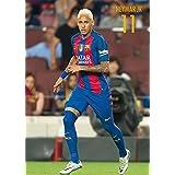 Grupo Erik Editores FC Barcelona Neymar Acción - Postal 2016/2017