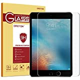 """OMOTON Ultra Clear 9H Hardness Tempered-Glass Screen Protector for New iPad 2018 & 2017 9.7"""" / iPad Pro 9.7 Inch/iPad Air 2 / iPad Air"""