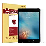 OMOTON Ultra Clear 9H Hardness Tempered-Glass Screen Protector for New iPad 2018 & 2017 9.7