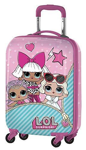 Lol Surprise B98401 Valigia Per Bambini, Trolley Da Cabina, 55 Centimetri, 33 Litri, Multicolore