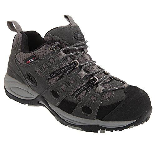Johnscliffe Kathmandu - Chaussures de marche - Homme Gris/Noir