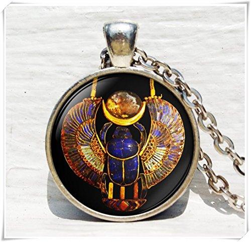 Alten Ägypten Schmuck, Ägypten Halskette Halskette, Skarabäus, Historische Anhänger