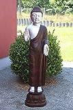 Asien Lifestyle Tempel Buddha Statue aus Naturstein