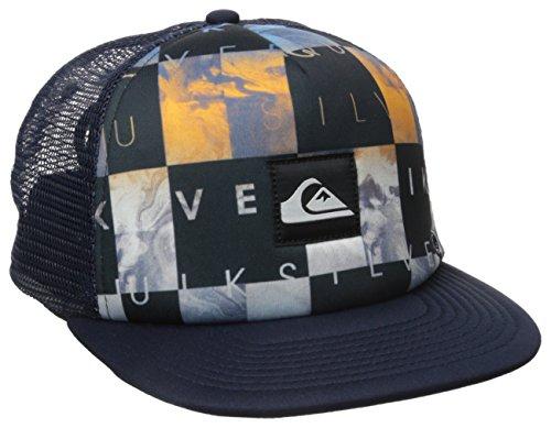 fb32b0d3ba9 Quiksilver 0888701171478 Mens Boardies Trucker Hat Dark Denim One Size-  Price in India