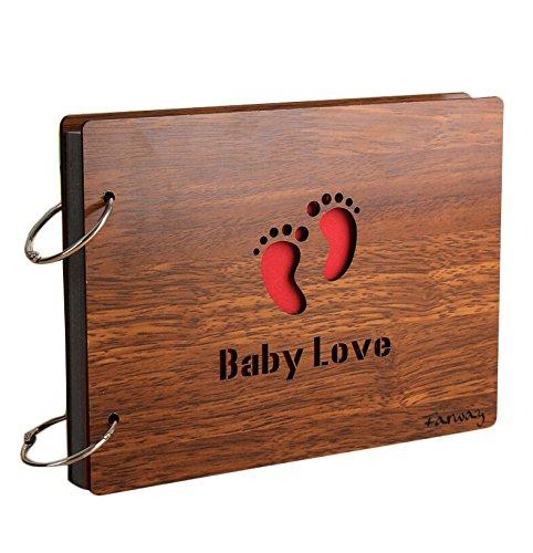 Farway - Album fotografico fai da te, in legno, per