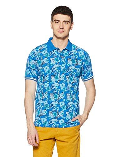 Breakbounce Men's Printed Slim Fit T-Shirt