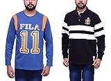 Fila Men'S T-Shirts(Combo Of 2) (X-Large...
