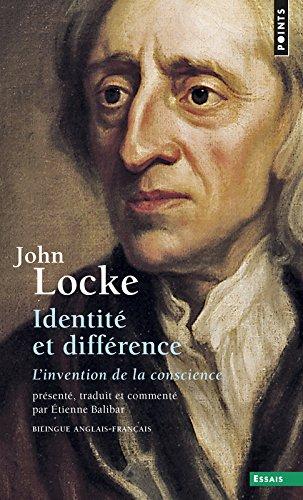 Identité et Différence : L'Invention de la conscience, édition bilingue (anglais-français)