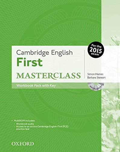 Cambridge English: First Masterclass: First masterclass. Workbook. With key. Per le Scuole superiori. Con CD-ROM. Con espansione online