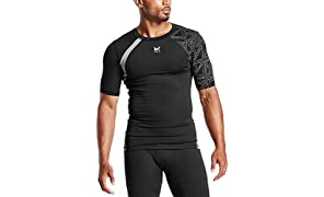 Mission X Wade Collection Men's Flash Short Sleeve Compression Shirt