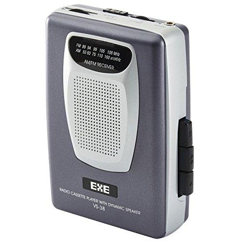 Valor Gama VS38GY portátil Retro Am/FM Radio Cassette Player con Altavoces