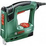 Bosch PTK 14 EDT - Grapadora eléctrica válida para grapas y clavos (240 W, 240 V) color verde