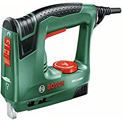 Bosch PTK 14 EDT - Grapadora eléctrica válida para grapas y clavos ...