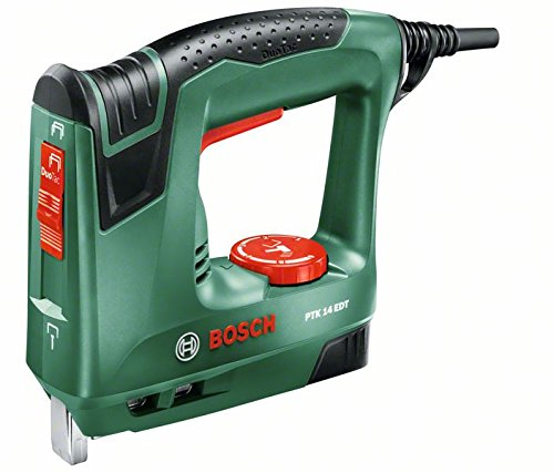 Bosch Home and Garden PTK 14 EDT Graffatrice Duo Tac, Verde