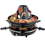 Syntrox Germany Tatarenhut Grill Raclette für 6 Personen